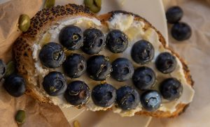 Bread, butter and wild berries