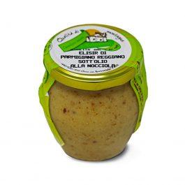 Parmigiano Reggiano Elisir with hazelnuts
