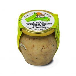 Parmigiano Reggiano Elisir with truffle