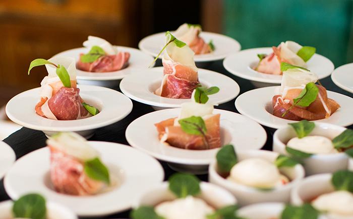 Tosone and raw Parma ham