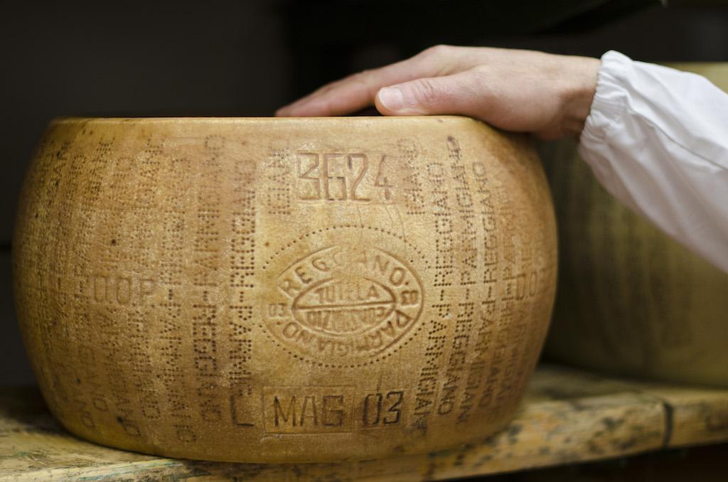 The Parmigiano Reggiano Cheese
